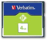 Verbatim 4GB Premium CompactFlash Card