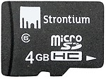 Strontium 4 GB Micro SD Card Class 4 (Pack of 20)