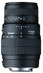 Sigma 70-300mm F 4-5.6 DG Macro Lens  For Sony DSLR
