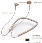 ROQ 8D HI BASS MAGNETIC BLUETOOTH EARPHONE WITH MIC AND MEMORY CARD SLOT 64 GB MP3 Player