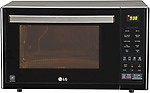 LG MJ3296BFT 32 L Convection Microwave Oven