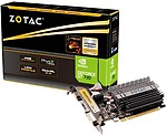 ZOTAC NVIDIA GT 730 2 GB DDR3 Graphics Card