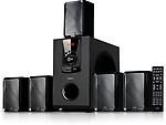 Impex Santo 5.1 Soundbar, Tower Speaker, Home Cinema(DVD, BlueRay)