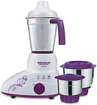 Maharaja Whiteline Stunner MX-168 500-Watt Mixer Grinder with 3 Jars 500 Mixer Grinder( 3 Jars)