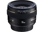 CANON EF 50 MM F/1.4 USM TELEPHOTO LENS