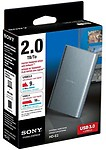 Sony 2 TB Wired external hard drive