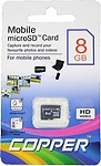 Copper Class 4 8 Gb Memory Card