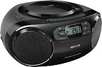 Philips AZ 329 Boom Box (Black)