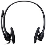 Logitech H330 USB Headset with Noise Cancellation