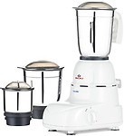 New Bajaj Glory 500-Watt Mixer grinder with 3 Jars Small Kitchen