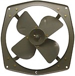 "Crompton 15"" 1400rpm Heavy Duty 4 Blade Exhaust Fan"