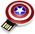 Quace Captain America Shield 16 GB Pen Drive