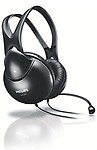 Philips SHM1900/93 Wired Headset (Black)