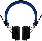 Polaroid Php8330Black/Blue Universal Foldable Hd Headphones