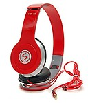 Signature Vm-46 Stereo Bass Solo Headphones for All Smartphones