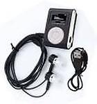 techobucks Digital MP3 Player Music Audio Player with LED Screen, Stereo Sound good quality earphone MP3 Player( 1 Display)