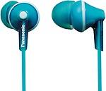 Panasonic RP-HBE125ME-K In-Ear Headphones - Black