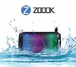 Zoook Rocker Mini Splash-proof Wireless Bluetooth Portable BT Speaker
