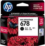 HP 678 Black Ink Cartridge