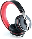CLiPtec PBH402BK Air-Leather Stereo Wireless Bluetooth Headset