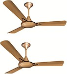 LONIK Crompton Avancer Anti Dust Cocoa Gold 3 Blade Ceiling Fan (Cocoa)