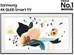 Samsung The Frame 125cm (50 inch) Ultra HD (4K) QLED Smart TV(QA50LS03TAKXXL)