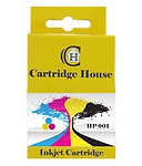 Cartridge House Cc656aa 901 Colour Remanufactured Ink Cartridge