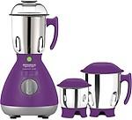 Maharaja Whiteline Powerclick Violet mixer grinder 750 Juicer Mixer Grinder(3 Jars)