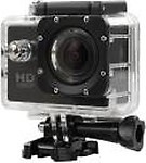 ALONZO SPORT ACTION CAMERA WIFI Sports Action Camera Ultra HD at 16 fps support 32GB SD Card, 1.5inch LCD Screen suitable with Android, IOS, Tablet, PC. Black Sports and Action Camera( 12 MP)