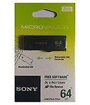 Sony Microvault 64GB Classic Pen Drive