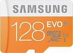 Samsung Evo 128 GB MicroSDXC Class 10 48 MB/s Memory Card