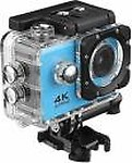 UPROKT 4k Camera Action Camera 4K Sports Action Camera Portable Package,12MP Ultra HD 30M Waterproof DV Camcorder 2 Inch LCD Screen Sports and Action Camera Sports and Action Camera(Blue, 16 MP)