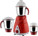 Anjalimix Amura red 750 Watts 4 Jars 750 W Mixer Grinder(4 Jars)