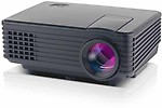 VibeX HDMI Home Theater Beamer Multimedia 800 lm LED Corded Portable Projector