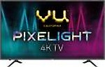 Vu Pixelight 126cm (50 inch) Ultra HD (4K) LED Smart TV  (50-QDV)