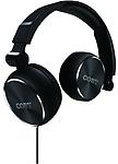 Coby Cvh-804-Blk Aluminum Foldz Headphones