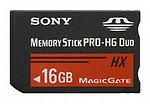 Sony Memory Card Pro Duo HX 16GB MS-HX16B/T1 ET4