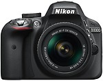 Nikon D3300 (Body with AF-S 18-55 mm VR Kit Lens) DSLR Camera