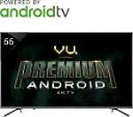 Vu Premium Android 138cm (55 inch) Ultra HD (4K) LED Smart TV  (55-OA)