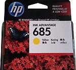 HP 685 Yellow Original Ink Advantage Cartridge CZ124AA