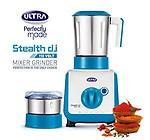 Elgi Ultra Stealth 750-Watt 2 Jar Mixer Grinder, 110 Volts
