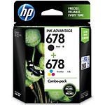 HP 678 Combo Pack & Tricolor Ink Cartridge