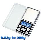 Gadget Hero's Digital Gold Weighing Scale 0.01g to 200g