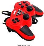 Frontech 3D Game Pad Dual Shock Joystick