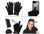 QAWACHH Brand Bluetooth Touch Screen Gloves Headset for
