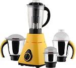 Anjalimix Amura Yellow 1000 Watts 4 Jars 1000 W Mixer Grinder(4 Jars)