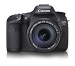 Canon EOS 7D 18.0MP Digital SLR with EF-S 18-135 Kit Lens