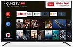 TCL 138.78 cm (55 inches) AI 4K UHD Certified Android Smart LED TV 55P8E Elite | Farfield Voice Search