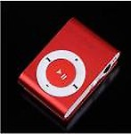 Lehza Mini MP3 Player with Data Cable and Earphone 32 GB MP3 Player  (Red, 0 Display)
