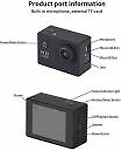 TFG GO PRO Portable Waterproof Ultra HD Sports Action Camera with Image Sensor & Wide Angle Lens for Shoot Photo's | Record Video's & Much More Sports and Action Camera( 16 MP)